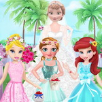 Flower Girls On Elsa