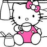 Hello Kitty Coloring Book